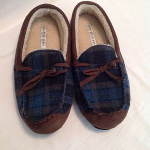 Geoffrey Beene men's comfort slippers. NWOB